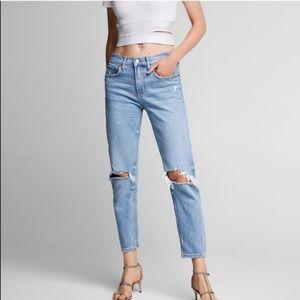 Zara Women Slim Boyfriend Jeans
